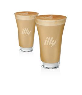 illy latte macchiato glazen