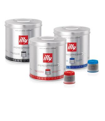 Iperespresso capsules - variaties