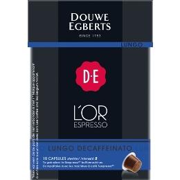 L'OR EspressO capsules- Lungo Decaffeinato