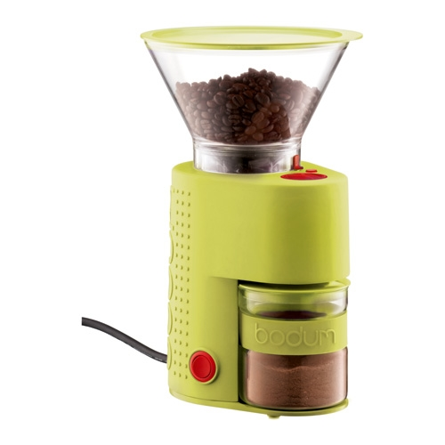 Bodum koffiemolen - geel