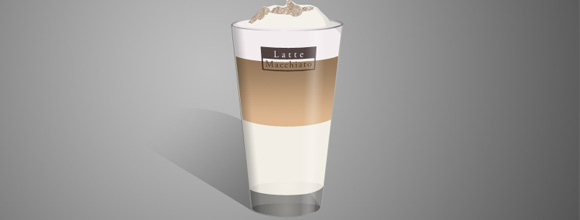 hoe maak je latte macchiato